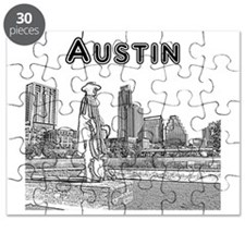 Austin_12x12_StevieRayVaughan_Black Puzzle