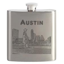 Austin_12x12_StevieRayVaughan_Black Flask