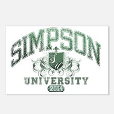 Simpson Last name Univers Postcards (Package of 8)