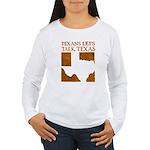 Talk Texas Women's Long Sleeve T-Shirt