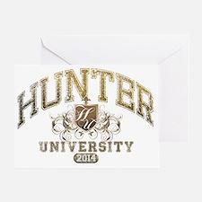 Hunter Last name University Class of Greeting Card