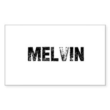 Melvin Rectangle Decal