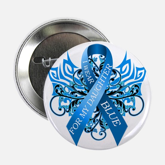 "I Wear Blue for my Daughter 2.25"" Button"