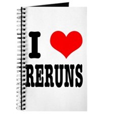 I Heart (Love) Reruns Journal