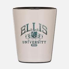 Ellis Last Name University Class of 201 Shot Glass