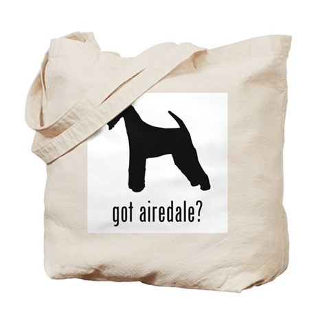 Airedale 2 Tote Bag