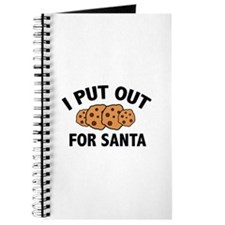 I Put Out For Santa Journal
