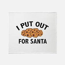 I Put Out For Santa Stadium Blanket