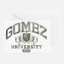 Gomez last name University Class of  Greeting Card