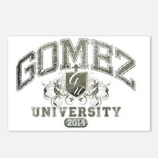 Gomez last name Universit Postcards (Package of 8)