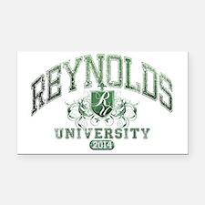 Reynolds Last Name University Rectangle Car Magnet