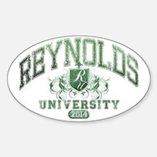 Reynolds Last Name University Class Decal