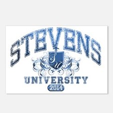 Stevens Last name Univers Postcards (Package of 8)