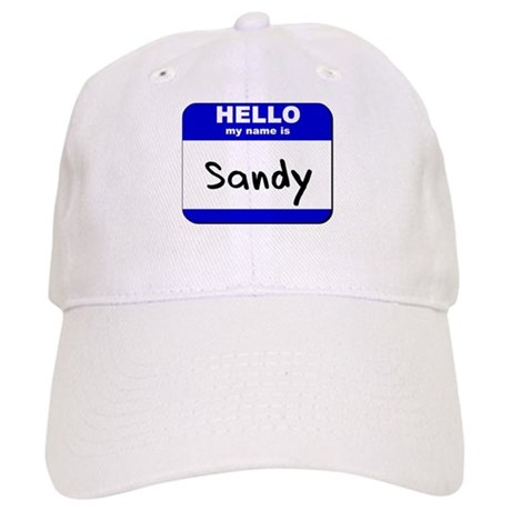 hello my name is sandy Cap