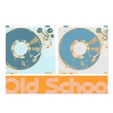 Old Shcool Turntables Postcards (Package of 8)