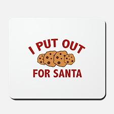 I Put Out For Santa Mousepad