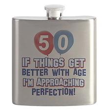 50 year old birthday designs Flask