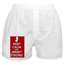 Keep Calm Jersey Strong Boxer Shorts