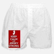 Keep Calm Jersey Strong Boxer Shorts