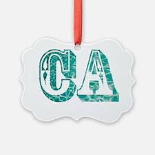 CA Ornament