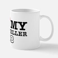 I love my bank teller job Mug