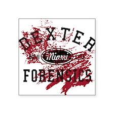 "Dexter Forensics Square Sticker 3"" x 3"""