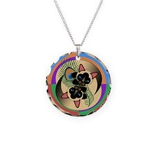 Siamese Kitty Cat Graphics Necklace