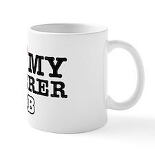 I love my caterer job Mug