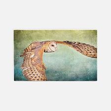 Barn Owl 3'x5' Area Rug