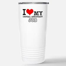 I love my dental hygien Stainless Steel Travel Mug
