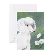 StephanieAM Poodle Greeting Card