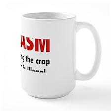 sarcasmCrap1C Mug