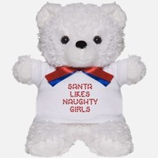 Santa Likes Naughty Girls Teddy Bear