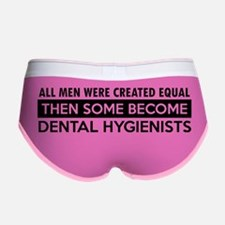 Dental hygienist designs Women's Boy Brief
