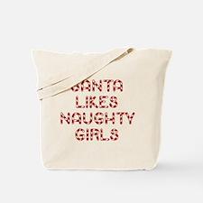 Santa Likes Naughty Girls Tote Bag