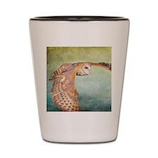 Barn Owl Shot Glass