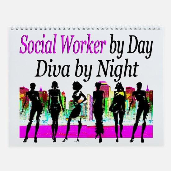 Social Worker Wall Calendar