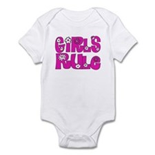 ...Girls Rule... Infant Bodysuit