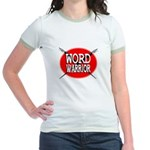 Word Warrior Women's Ringer T-Shirt