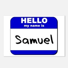hello my name is samuel  Postcards (Package of 8)