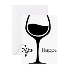 Sip Happens Greeting Card