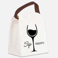 Sip Happens Canvas Lunch Bag