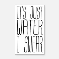 Its Just Water I Swear Rectangle Car Magnet
