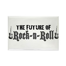 Future of Rock n Roll Rectangle Magnet