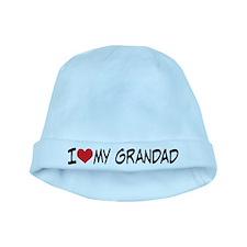 I Heart My Grandad baby hat