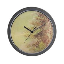 Little Ferns Wall Clock