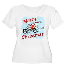 Motorcycle Santa T-Shirt
