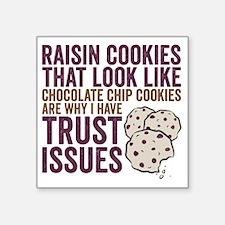 "Cookies Square Sticker 3"" x 3"""