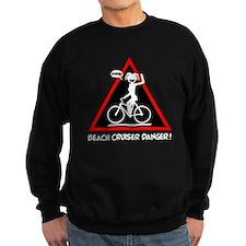 BEACH CRUISING danger triangle Jumper Sweater
