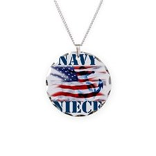 Navy Niece Necklace